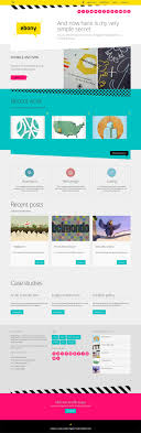 73 Best Creative One Page Websites Images On Pinterest Creative