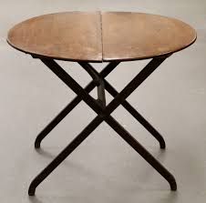 small round folding table the new way home decor save the small space with round folding tables