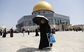The site is also the holiest site for jews, who refer to it as the temple mount and revere it as the spot where the biblical temples. 260 000 Muslims Pray Peacefully At Al Aqsa Mosque After Terror Attack The Times Of Israel