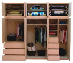 smart storage solutions for small bedrooms inspiring closet design with brown wooden closet organizer designed
