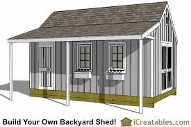 12x20 garden shed plans