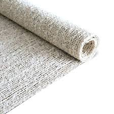 rug pad on carpet natures grip non skid jute and natural rubber friendly rug pad rug rug pad on carpet
