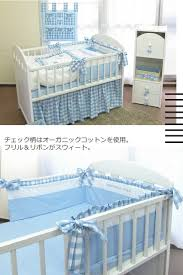 designers guild of japan made crib bed guard baby baby bed guard bedding bed accessories