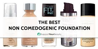 the best non edogenic foundation 2017 reviews top picks check it out on support your beauty