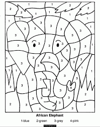 May math printables ~ color by the code puzzles to practice addition and subtraction facts. Color By Math Coloring Home