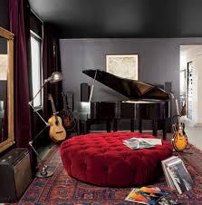 Bedroom: Inspiring Modern Bedroom Design With Music Themed - Bedroom Design