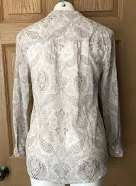 Carve Designs Dylan Gauze Shirt Nwt Carve Designs Womens Dylan Gauze Paisley Shirt Small