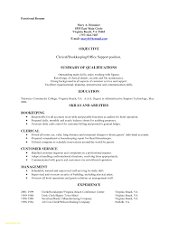 File Clerk Resume Objective Examples Medical Records Example No