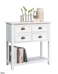 Table White Console From Storage Box With Drawers Fantastic 19 Table White Console  Table With Storage