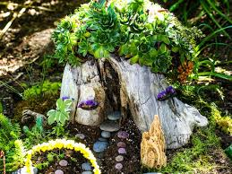 how to make fairy houses with materials
