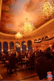 along the back wall you could even see it snowing on the balcony where belle and beast enjoyed a quiet moment after dancing in the beauty and the