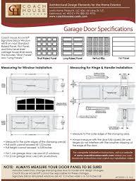 garage door plastic window insertsCoach House Accents Simulated Garage Door Window 2 windows per