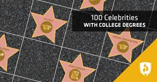 100 Celebrities with College Degrees   Rasmussen College