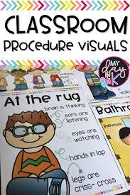 Preschool Classroom Design Tool Classroom Procedure Visuals Kindergarten Classroom