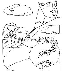 Small Picture Kite coloring pages for toddlers ColoringStar