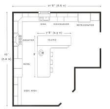 Great kitchen floor plan.