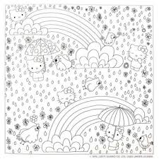 Print free hello kitty coloring sheets and her friends for coloring. Hello Kitty Friends Coloring Book By Viz Unknown Paperback Barnes Noble