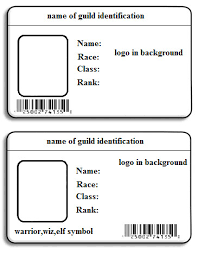Printable Id Cards Templates Free