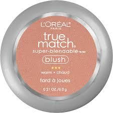 l oreal paris true match super blendable blush barely blushing w3 40 21 oz