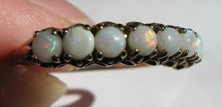 gorgeous antique opal estate ring october birthstone purchased in concord ma