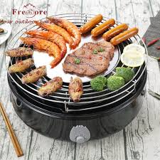 china diy multifunctional electric charcoal grill oven with non stick roasting plate china barbeque stove roaster