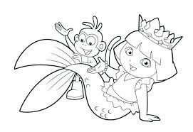 Cute Mermaid Coloring Pages Cute Mermaid Coloring Pages Cute Mermaid