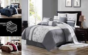 bedroom collection fl embroidery duvet comforter top cov