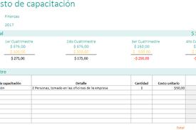 Plantillas De Excel De Presupuesto Planillaexcel Com