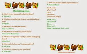 Small Picture Famous Thanksgiving Jokes For Kids Free Quotes Poems Pictures