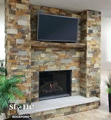 stone veneers for fireplaces diy stone veneer outdoor fireplace