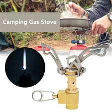 <b>Outdoor Portable</b> Folding Mini <b>Camping</b> Oven Gas Stove <b>Survival</b> ...