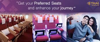Thai Airways Introduces Paid Premium Seat Selection On