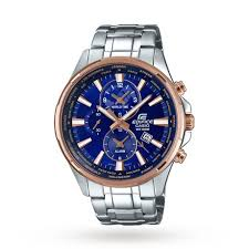 casio men s edifice two tone world time sport watch mens watches casio men s edifice two tone world time sport watch