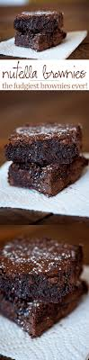 Nutella Topped Brownies Best 25 Nutella Brownies Ideas On Pinterest Nutella Recipes