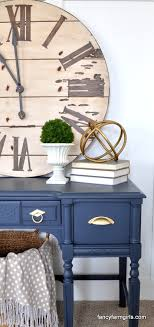 navy blue desk. You May Have Noticed A Lot Of Navy Blue Popping Up In All Things Home Decor Lately. Desk