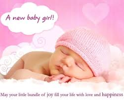 Congrats Baby Born Congratulations On Baby Girl Welcome Baby Girl Quotes
