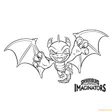Skylanders Imaginators Coloring Pages Color Bros