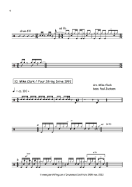 Soul Vaccination Drum Chart Sheets Jan Rohlfing