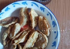 1 sendok makan tepung terigu. Resep Tahu Walik Aci Anti Ribet