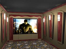 creative designs home theater curtains absolute zero velvet