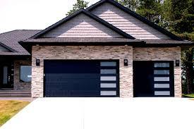 black garage doorsResidential Garage Doors and Openers