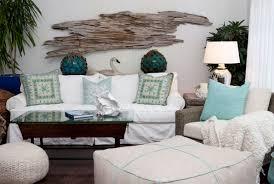 white beach furniture. Funiture, Coastal Furniture Ideas For Living Room With White Slipcovered Sofa And Blue Motif Cushions Beach