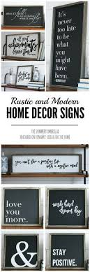 Small Picture Rustic and Modern Home Decor Signs Giveaway Modern Spring and