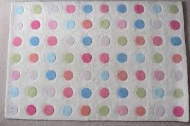 large john lewis polka dot rug ideal for kids bedroom or playroom