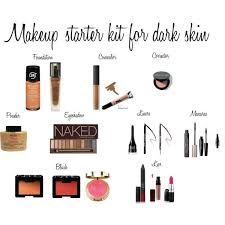 the best makeup for dark skin makeup starter kit for dark skin by novo32 on polyvore featuring beauty urban decay lancà me nars cosmetics