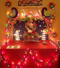 ganpati festival decoration ideas home home decor