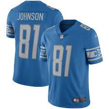 Johnson Detroit Lions Jersey Calvin