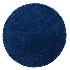jysk 2510236 micro karlstad bath mat d70 blue