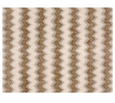 rexford printed handwoven zig zag rug pottery barn