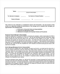 Restaurant Manager Review Forms 7 Restaurant Management Forms Excel Pdf